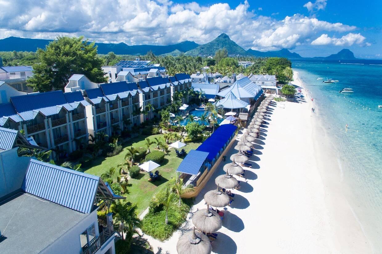 Vue panoramique - Pearle Beach Resort & Spa Mauritius 4* Mahebourg Ile Maurice