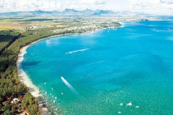 Vue panoramique - Hôtel Residence Choisy les Bains Mahebourg Ile Maurice