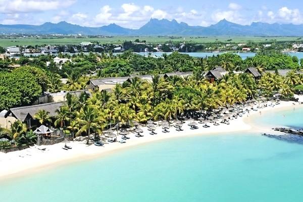Vue panoramique - Hôtel Royal Palm Beachcomber Luxury 5* Mahebourg Ile Maurice