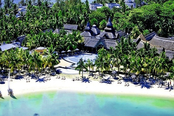 Vue panoramique - Hôtel Shandrani Beachcomber Resort & Spa 5* Mahebourg Ile Maurice