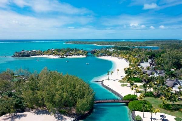 Vue panoramique - Hôtel Shangri-La Le Touessrok Mauritius 5* Mahebourg Ile Maurice