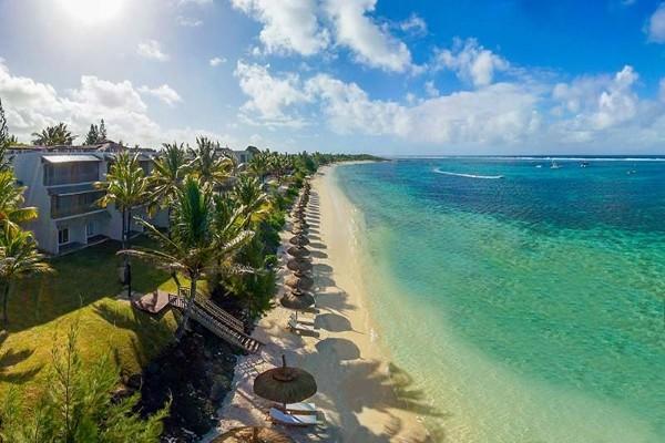 Vue aérienne - Solana Beach Mauritius