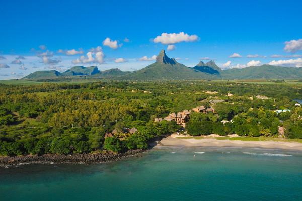 Vue panoramique - Hôtel Tamarina Beach Golf & Spa 4* Mahebourg Ile Maurice