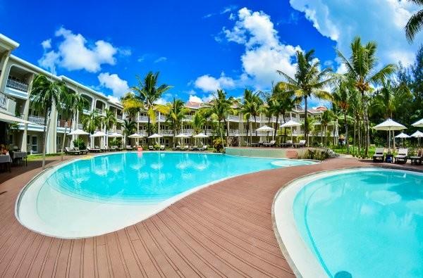 Piscine - Hôtel Tarisa Resort & Spa 3* sup Mont-Choisy Ile Maurice