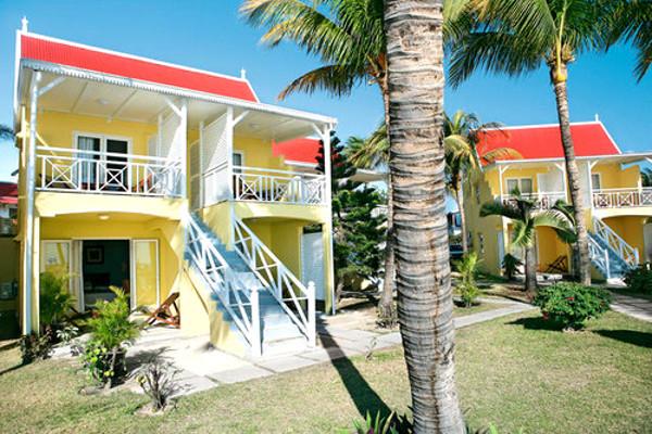 Facade - Club Jet Tours Villas Caroline 3* Port Louis Ile Maurice