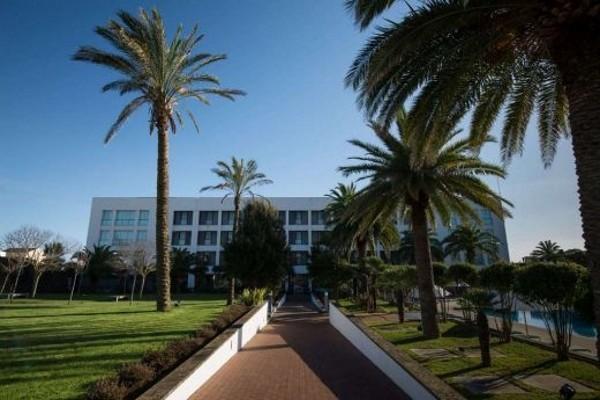 Facade - Hôtel Azoris Royal Garden 4* Ponta Delgada Iles Des Acores