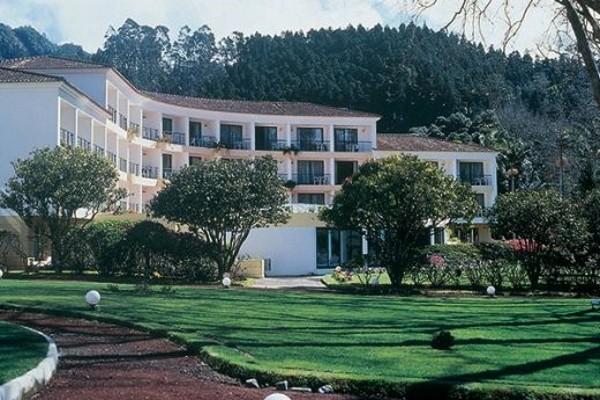 Facade - Hôtel Terra Nostra Garden 4* Ponta Delgada Iles Des Acores