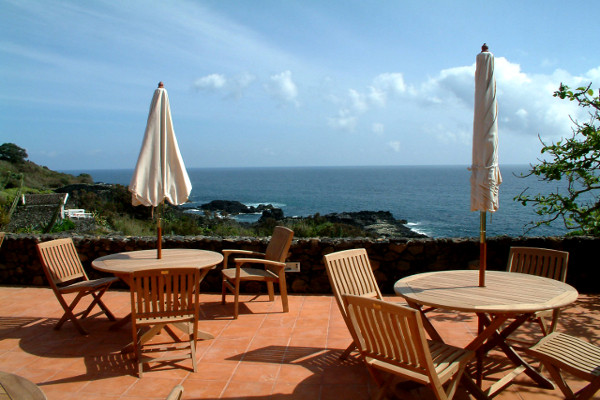 Terrasse - Hôtel Caloura 4* Ponta Delgada Iles Des Acores