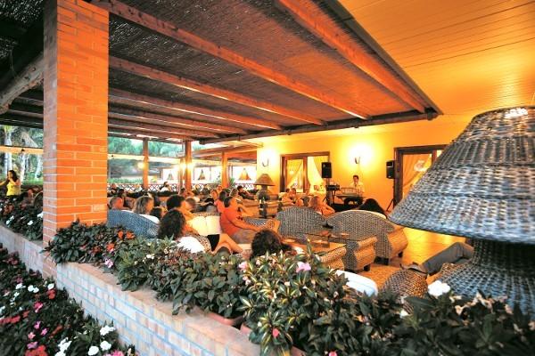 Terrasse - Hôtel Top Clubs Villaggio Oasis 4* Naples Italie