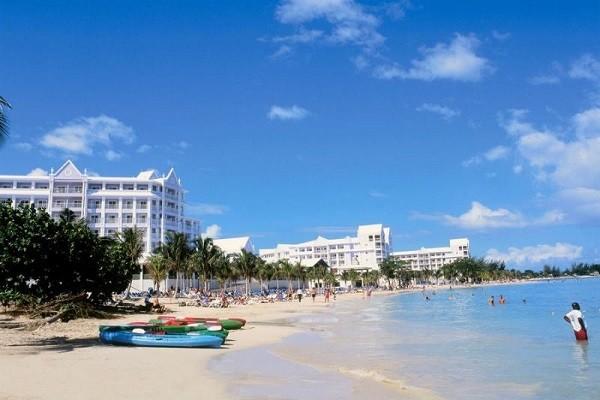 Plage - Hôtel Riu Ochos Rios 5* Montegobay Jamaique