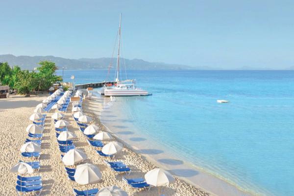 Plage - Hôtel Royal Decameron Montego Beach 4* Montegobay Jamaique