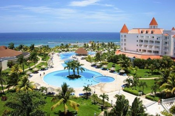 Vue panoramique - Hôtel Grand Bahia Principe Jamaica 5* Montegobay Jamaique