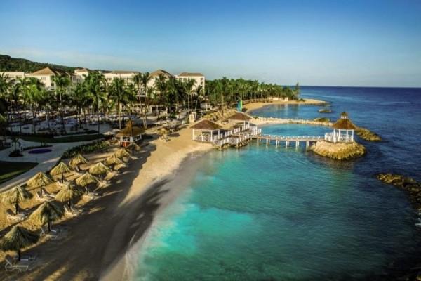 Vue panoramique - Hôtel Hyatt Ziva Rose Hall 5* Montegobay Jamaique