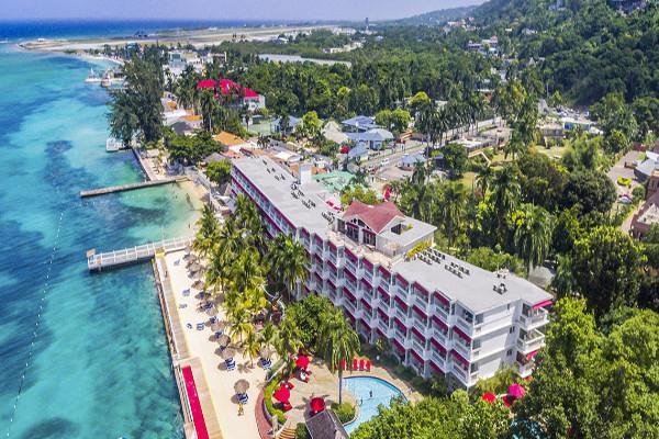 Vue panoramique - Hôtel Royal Decameron Montego Beach 4* Montegobay Jamaique