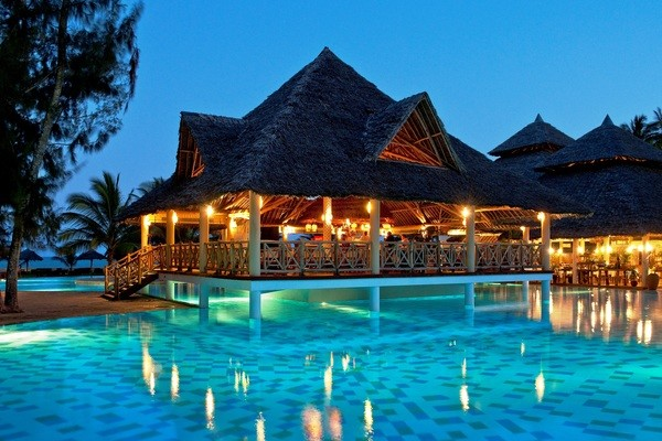 Piscine - Hôtel Neptune Palm Beach Boutique Resort & Spa 4* Mombasa Kenya
