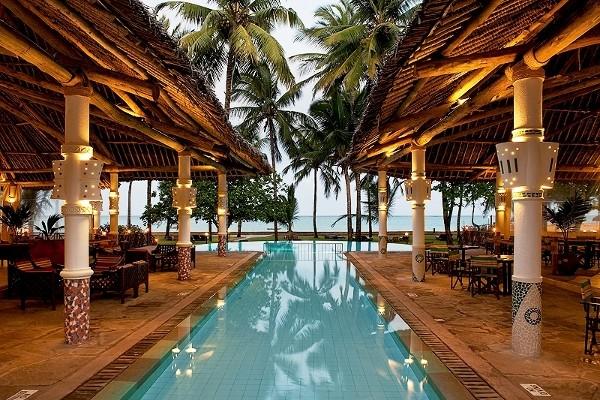 Piscine - Neptune Village Beach Resort & Spa 4* Mombasa Kenya
