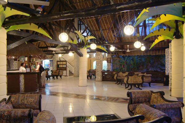 Reception - Hôtel Bamburi Beach hotel 3* Mombasa Kenya