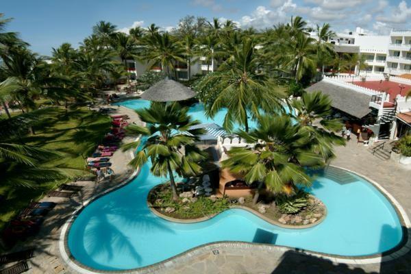 Vue panoramique - Hôtel Bamburi Beach hotel 3* Mombasa Kenya