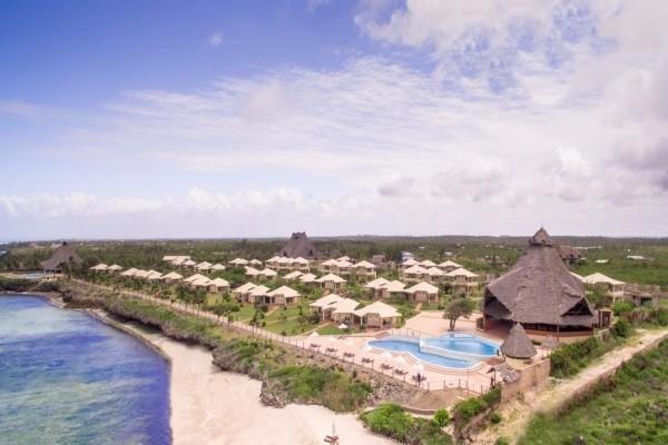 Vue panoramique - Club The One Watamu Bay Resort 4* Mombasa Kenya