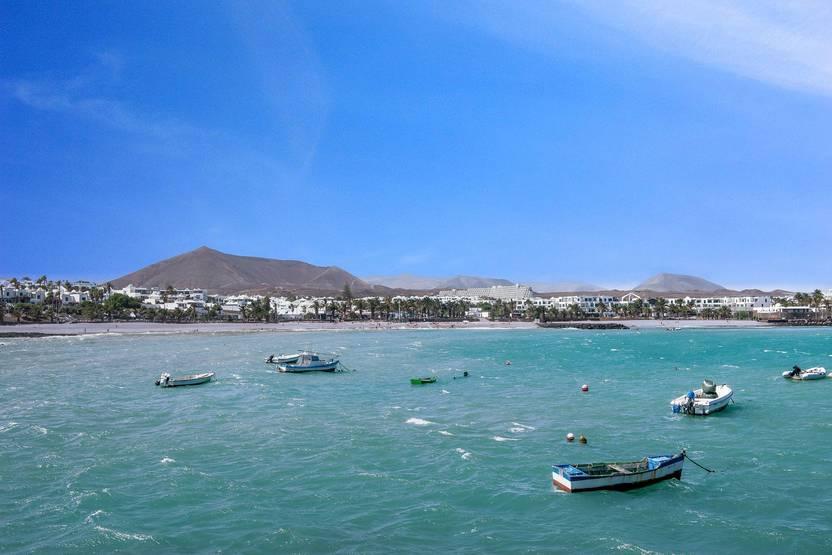 Plage - Hôtel Los Zocos Impressive Resort 4* Arrecife Lanzarote
