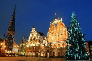 Lettonie-Riga, Hôtel Saint Sylvestre à Riga