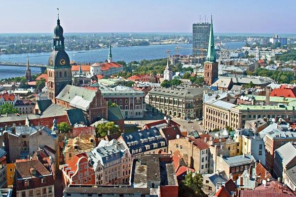 Ville - Hôtel Marché de Noël à Riga 4* Riga Lettonie