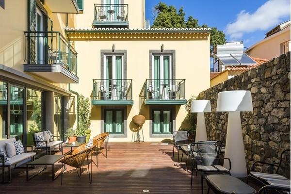 Bar - Hôtel Castanheiro Boutique Hôtel 4* Funchal Madère