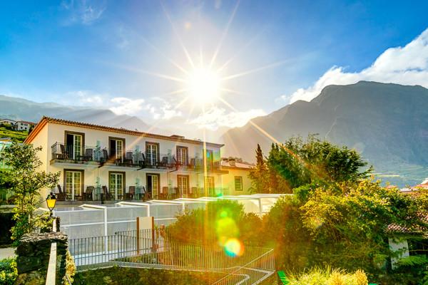 Facade - Hôtel Estalagem do Vale 4* Funchal Madère