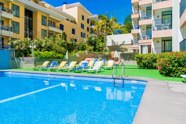 Piscine - Hôtel Dorisol : Buganvilia / Mimosa (sans transport) 3* Funchal Madère