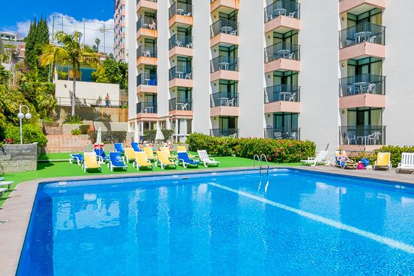 Piscine - Hôtel Dorisol : Buganvilia / Mimosa 3* Funchal Madère