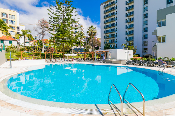 Piscine - Hôtel Girassol 4* Funchal Madère