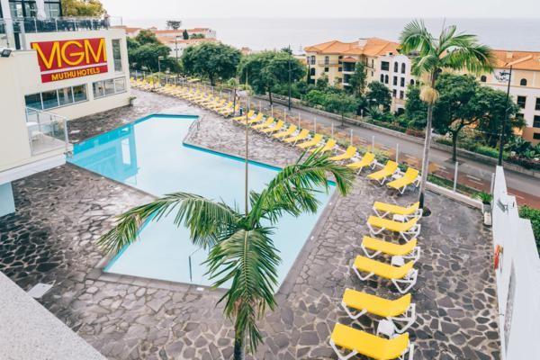 Piscine - Hôtel Muthu Raga Madeira Hotel 4* Funchal Madère