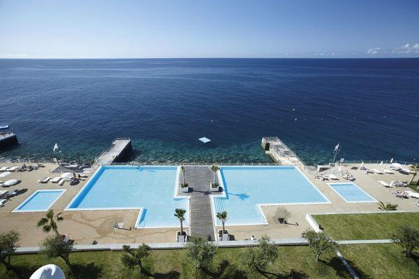 Piscine - Hôtel Vidamar Resorts Madeira 5* Funchal Madère