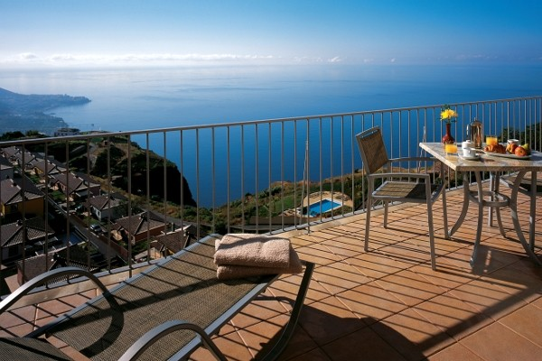 Terrasse - Hôtel Cabo Girao 4* Funchal Madère