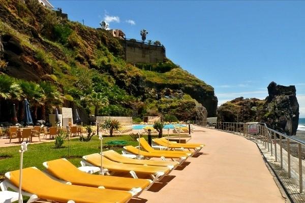 Terrasse - Hôtel Orca Praia 3* Funchal Madère