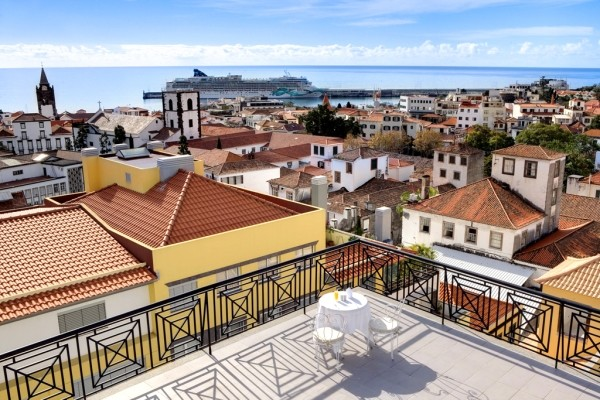 Terrasse - Orquidea 3* Funchal Madère