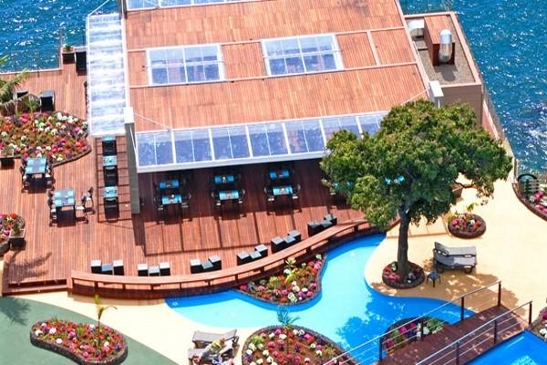 Terrasse - Hôtel Pestana Carlton Madeira 5* Funchal Madère