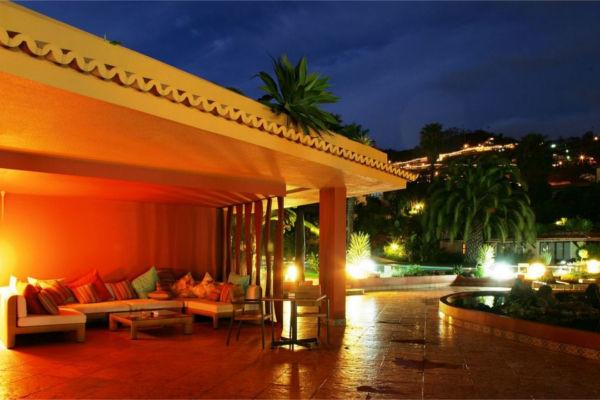 Terrasse - Hôtel Quinta Splendida 4* Funchal Madère