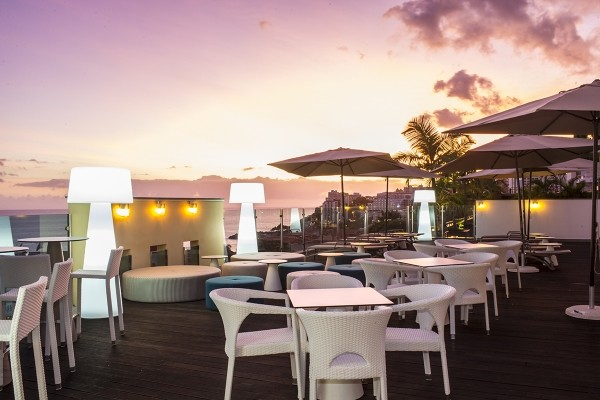 Terrasse - Hôtel The Lince 4* Funchal Madère