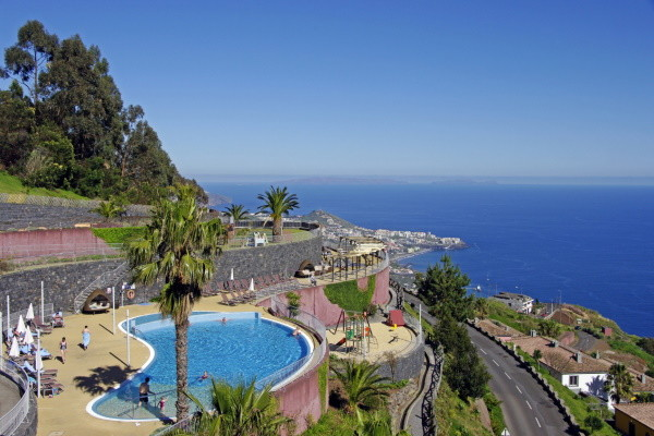 Vue panoramique - Hôtel Cabo Girao 4* Funchal Madère