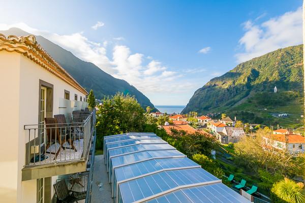 Vue panoramique - Hôtel Estalagem do Vale 4* Funchal Madère