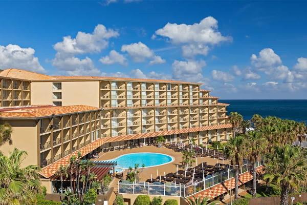 Vue panoramique - Hôtel Four Views Oasis 4* Funchal Madère