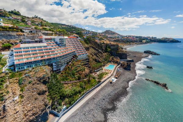 Vue panoramique - Hôtel Orca Praia 3* Funchal Madère
