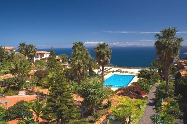 Vue panoramique - Hôtel Quinta Splendida 4* Funchal Madère