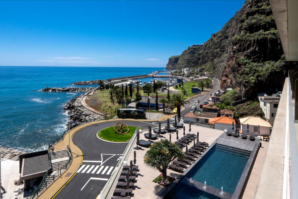 Vue panoramique - Saccharum Resort & Spa 5* Funchal Madère