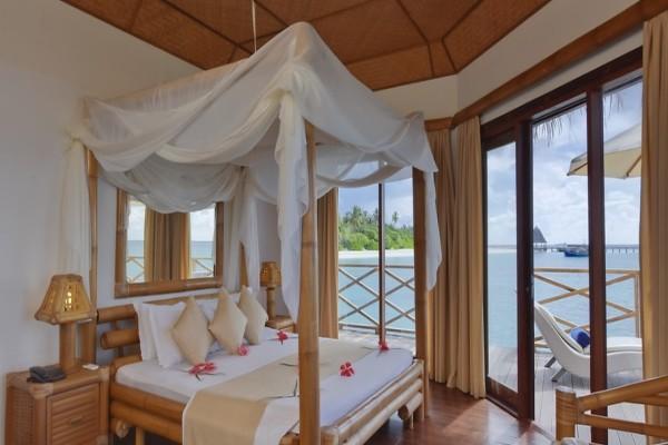 Chambre - Hôtel Angaga Island Resort & Spa 4* Male Maldives