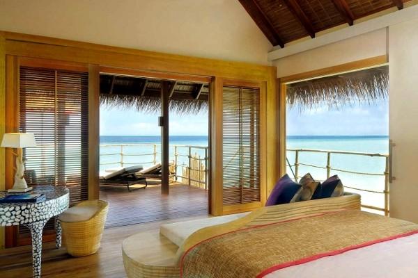 Chambre - Hôtel Constance Moofushi Resort 5* Male Maldives
