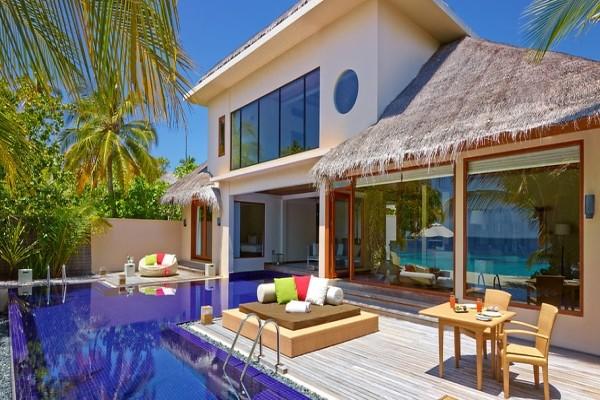 Chambre - Hôtel Huvafen Fushi Maldives 5* Male Maldives