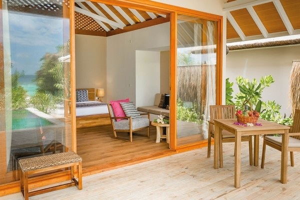 Chambre - Hôtel Kudafushi Resort & Spa 5* Male Maldives