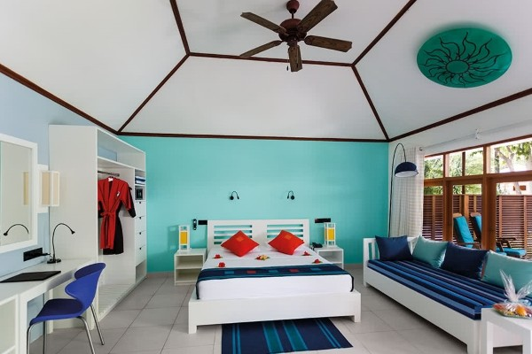 Chambre - Hôtel Meeru Island Resort & Spa 5* Male Maldives